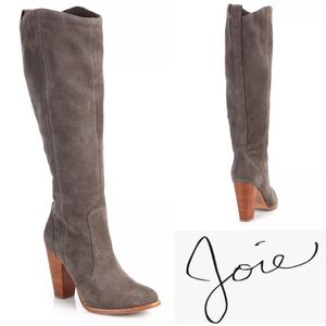 Joie Dagny Suede Knee Boot Brown Size EU41